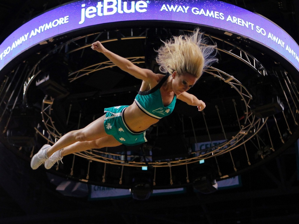Cheerleader do Boston Celtics 