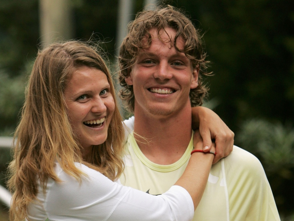 Casal de tenistas: Lucie Safarova e Tomas Berdych