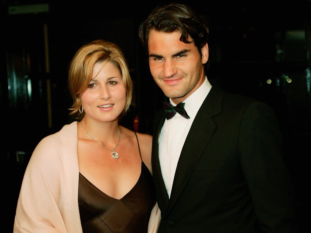 Ex-tenista, Miroslava Vavrinec se casou com Roger Federer e se tornou Miroslava Federer