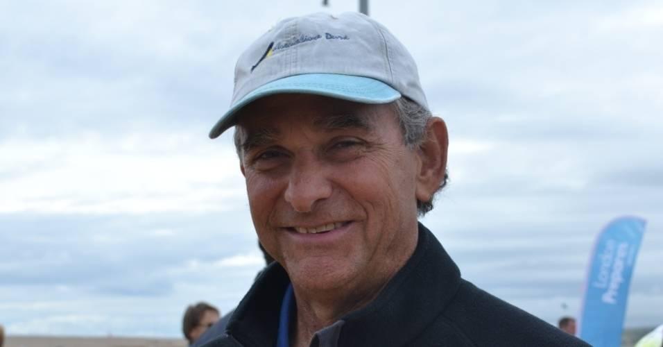 Cláudio Biekarck , atleta de vela