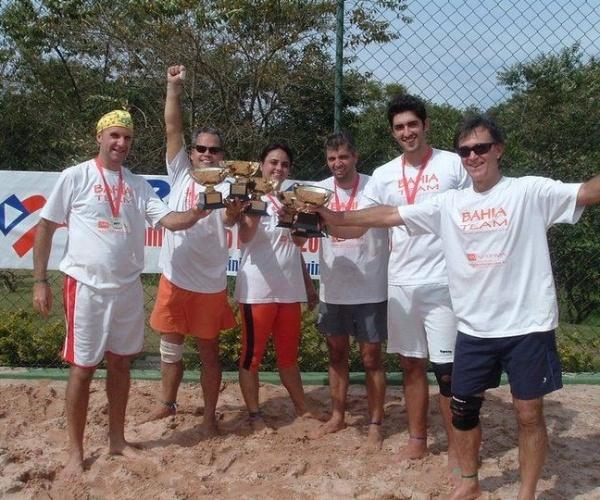 Você Manda: Marcelo dos Santos, 45 anos, Valinhos (SP), levanta a taça de campeão