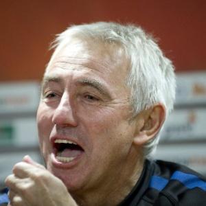 O técnico da seleção holandesa Bert van Marwijk descarta qualquer problema com os jogadores