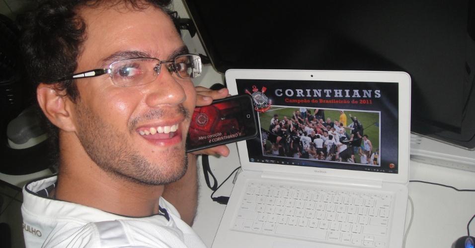 Wysley Silva Mello comemora o título direto da Paraíba
