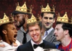 Confira quem foram os novos reis do esporte no ano de 2011 - Arte UOL