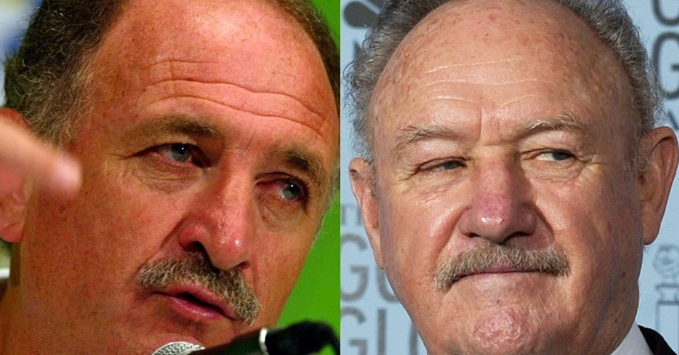 O bigodinho  a marca registrada de Felipo e Gene Hackman