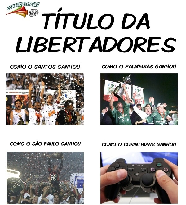 Ria do Corinthians: o ponto de vista das conquistas da Libertadores