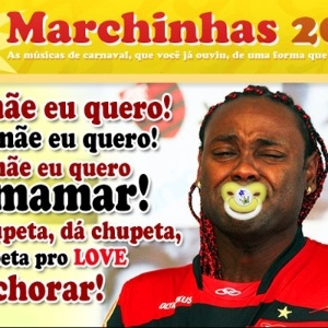 Corneta FC: Marchinha de Carnaval do Flamengo