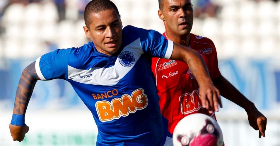 Atacante Wellington Paulista foi um dos destaques do Cruzeiro na partida contra o América-TO