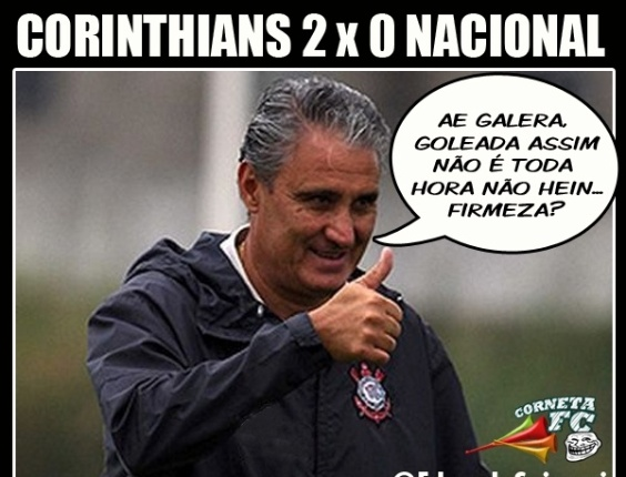 Corneta FC: Para Tite, 2 a 0  goleada