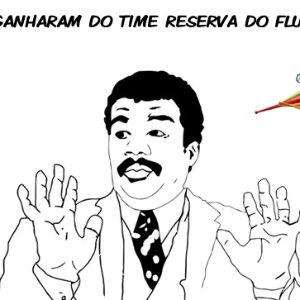 Corneta FC; Ui, eles ganharam do time reserva do Fluminense... 