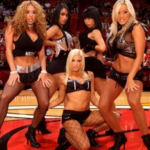 Cheerleaders do Miami Heat