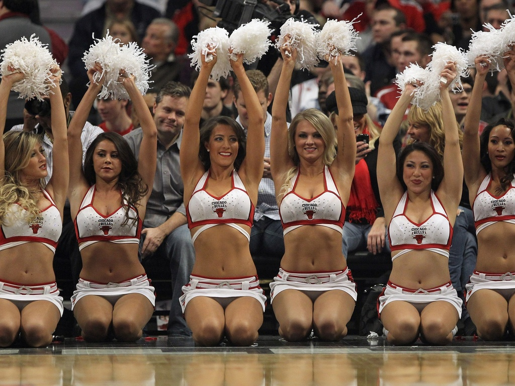 Cheerleaders dos Bulls