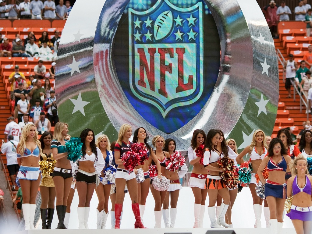 Cheerleaders animam o Pro Bowl, no Hava