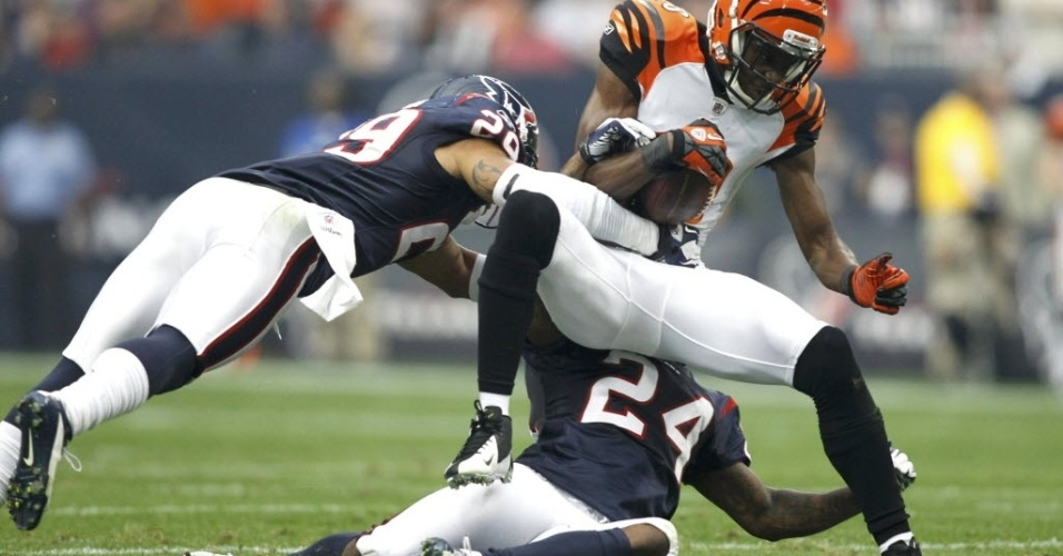 A.J. Green, do Cincinnati Bengals, sofre tackle e