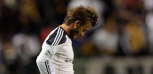 Beckham se lamenta em derrota do LA Galaxy para o FC Dallas