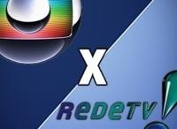 Globo e RedeTV! travam guerra por causa da disputa dos direitos do Brasileirão