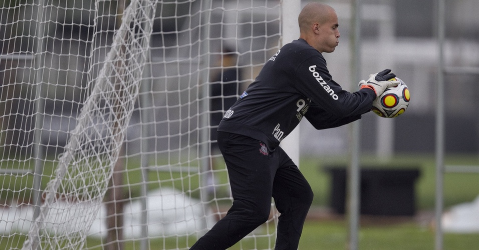 Julio Cesar, goleiro do Corinthians