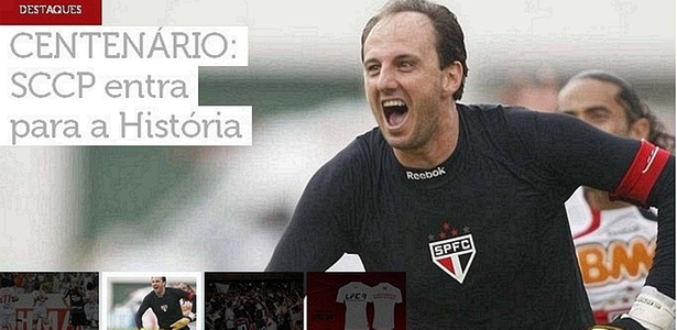 Em seu site oficial, So Paulo provoca o Corinthians