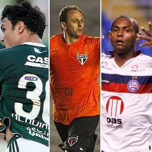 Kleber, Rogrio Ceni e Jobson disputam melhor da 5 rodada do Brasileiro