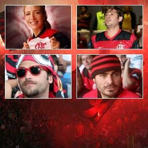 Selo - Torcedores ilustres do Flamengo na TV