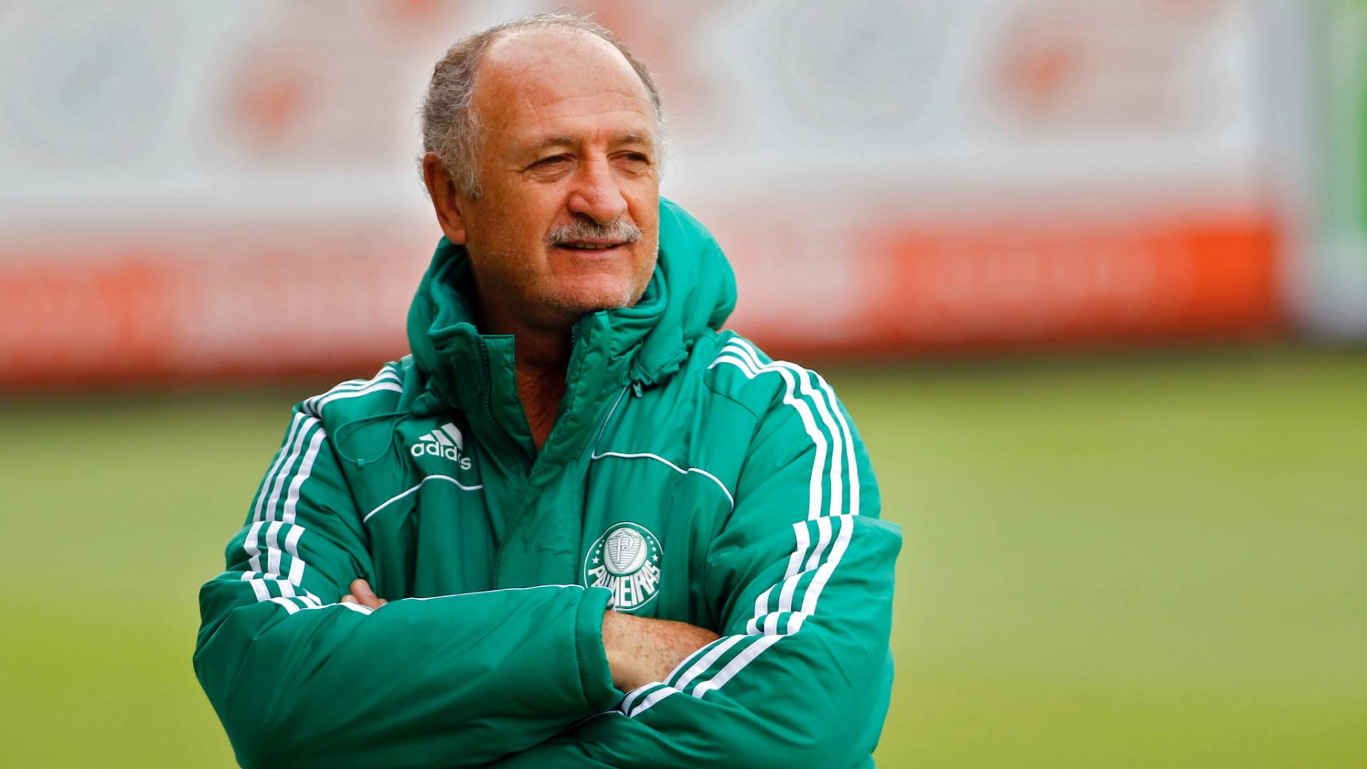 Luiz Felipe Scolari, tcnico do Palmeiras, em foto de maio de 2011