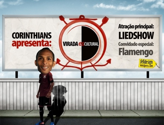 Corinthians apresenta: Virada esCULTURAL aps vitria sobre o Flamengo no Brasileiro