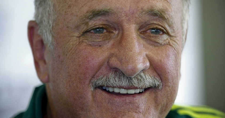 Luiz Felipe Scolari, tcnico do Palmeiras