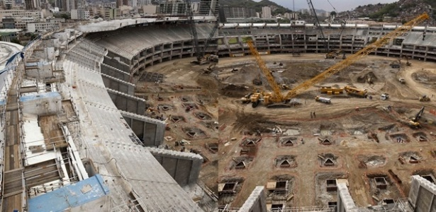 Reforma do Maracan&#227; para a Copa do Mundo de 2014 est&#225; or&#231;ada em R$ 1 bilh&#227;o
