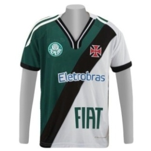 Uniforme une torcidas de Vasco e Palmeiras contra o Corinthians