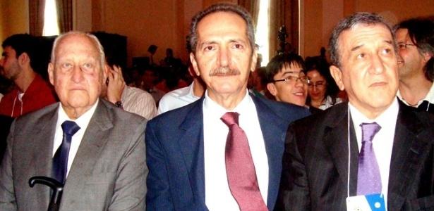 João Havelange, Aldo Rebelo e Carlos Alberto Parreira participam do Footecon