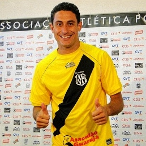 Goleiro Lauro  apresentado na Ponte Preta (02/01/2012)