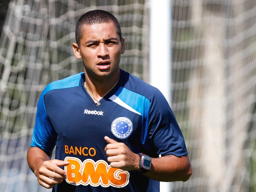 Wellington Paulista durante a pr-temporada do Cruzeiro (16/1/2012)