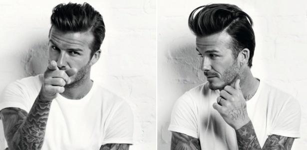 Com topetão, David Beckham é destaque em revista norte-americana para homens