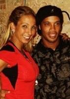 flamengo: Ronaldinho posa com Popozuda após noite de vaias