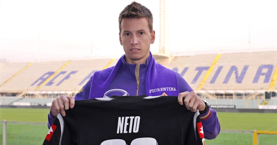 Goleiro Neto, da Fiorentina, est&#225; na pr&#233;-lista para as Olimp&#237;adas de Londres 2012