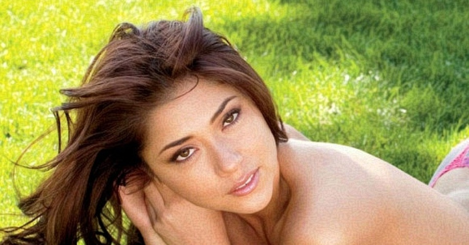 Ensaio da ring girl do UFC Arianny Celeste