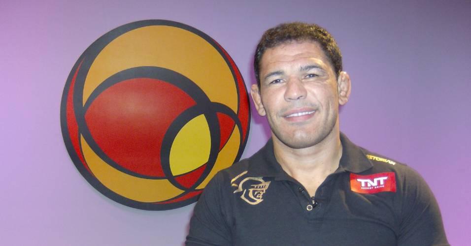 Rodrigo Minotauro foi o convidado do UOL Esporte Entrevista