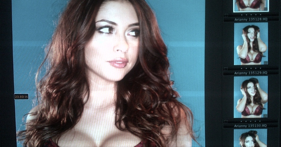Ring girl do UFC, Arianny Celeste posta foto de ensaio para revista inglesa