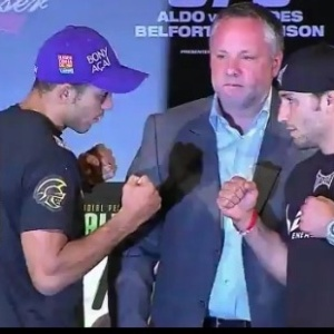Campeo dos Penas do UFC, Jos Aldo encara Chad Mendes, desafiante ao cinturo do UFC 142 (12/01/2012)