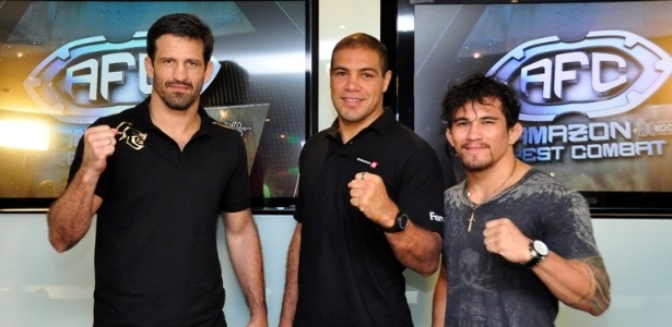 Murilo Bustamante, Thales Leites e Ronnys Torres v&#227;o estrelar o Amazon Forest Combat