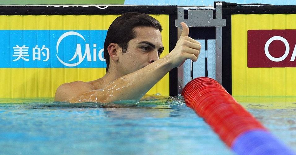 Kaio Márcio ganhou a sua segunda medalha neste Mundial de piscina curta