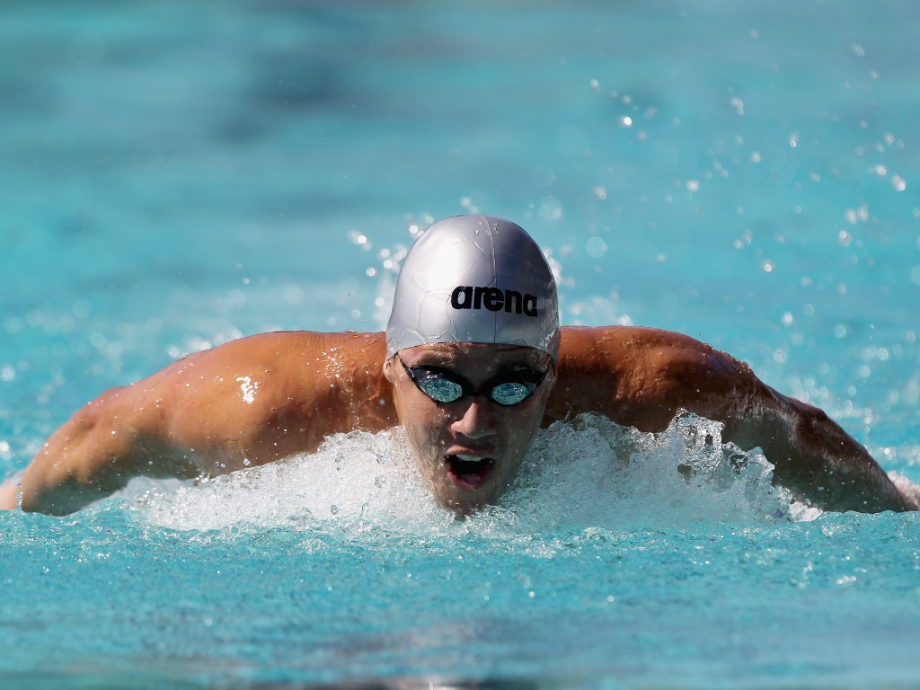 Thiago Pereira vence os 400m medley no GP de Santa Clara (19/06/2011)