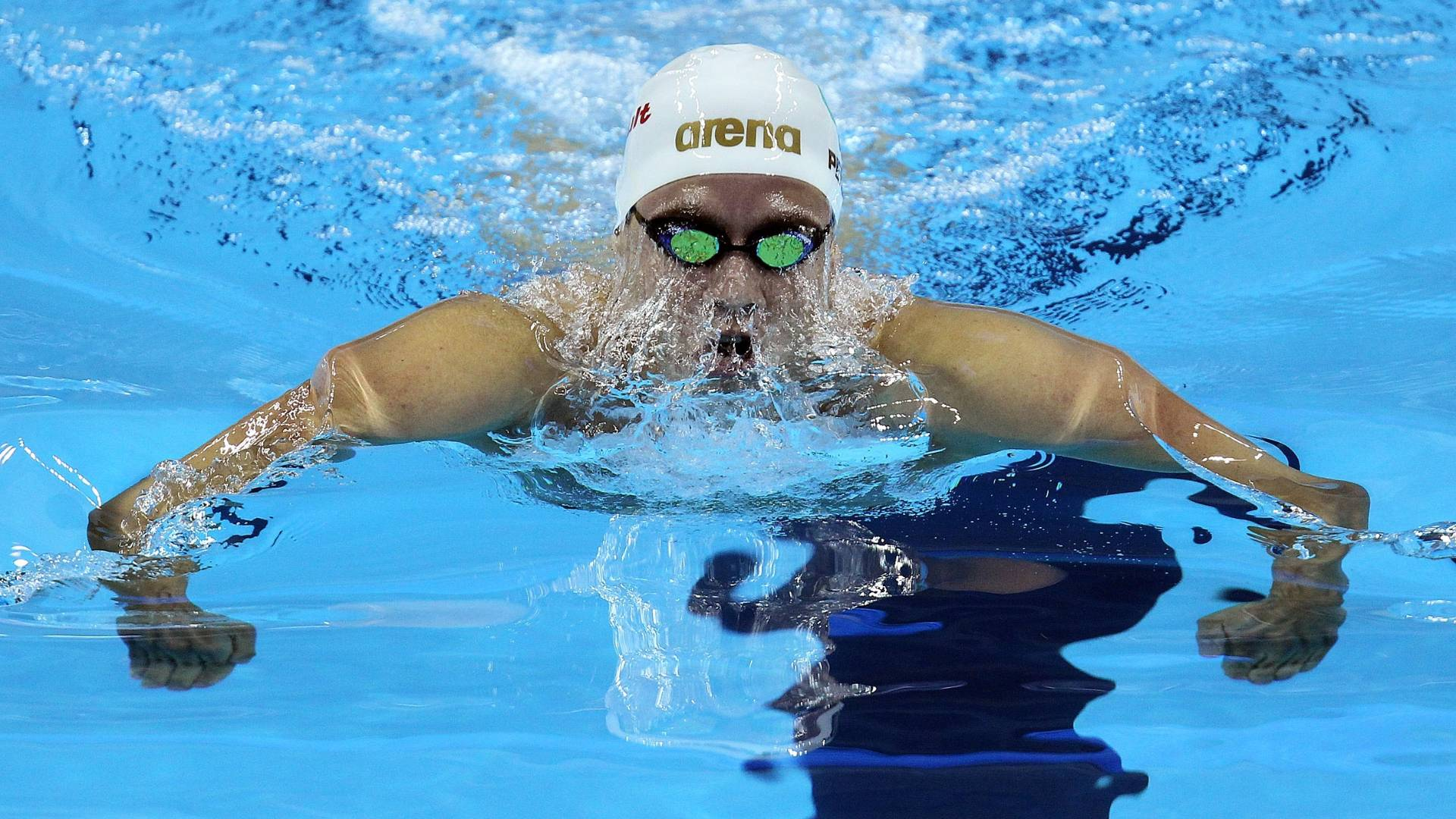 Thiago Pereira disputa as eliminatórias dos 200 m medley do Mundial de Xangai (26/07/11)