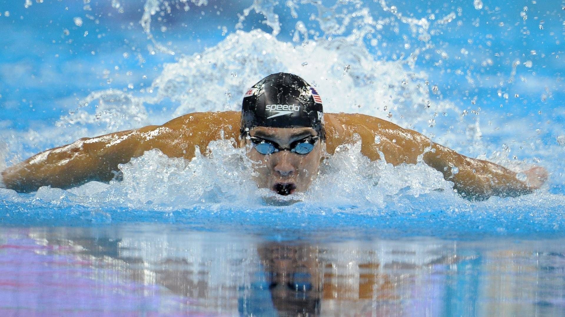 Michael Phelps conquistou a medalha de ouro nos 100m borboleta no Mundial de Xangai (30/07/2011)