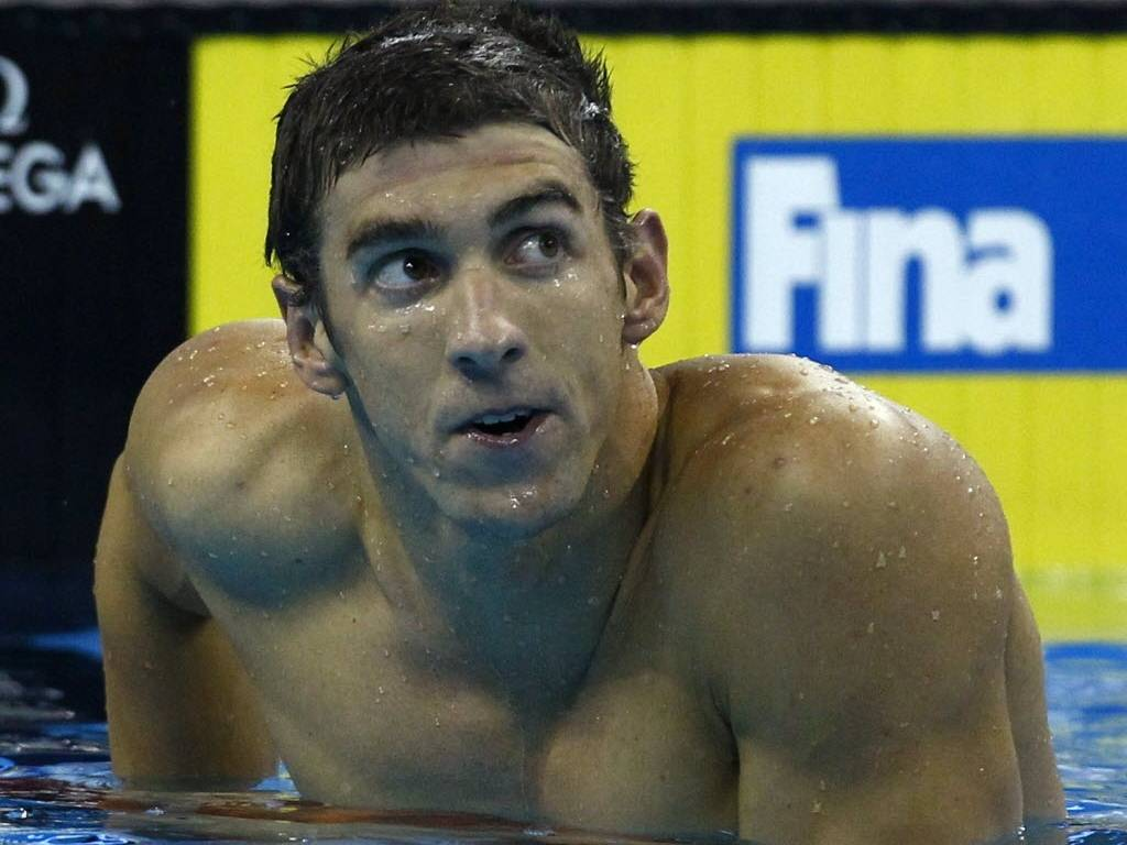 Michael Phelps, nadador norte-americano e maior atleta da histria da Olimpada