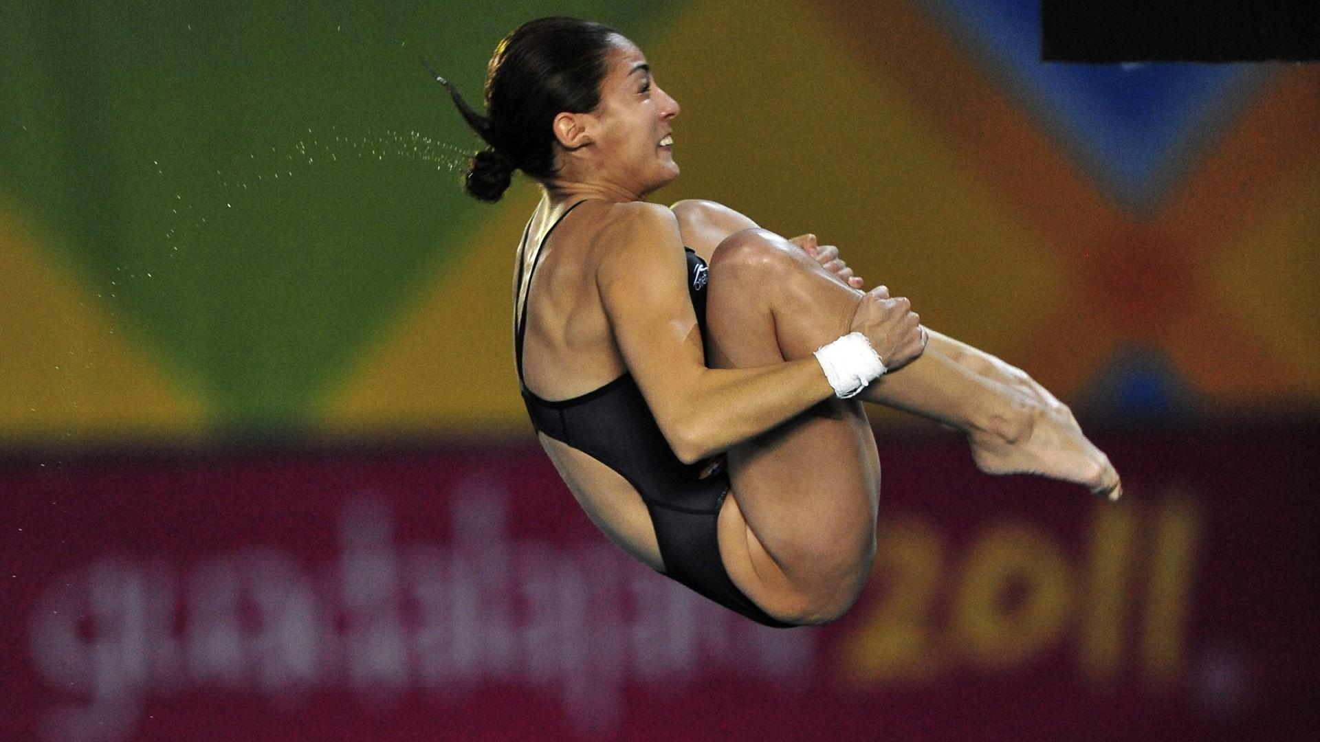 Paola Espinoza disputa plataforma de 10 m dos Jogos Pan-Americanos de Guadalajara