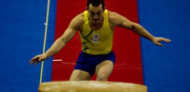 Diego Hypolito disputa final do salto na ginástica artística