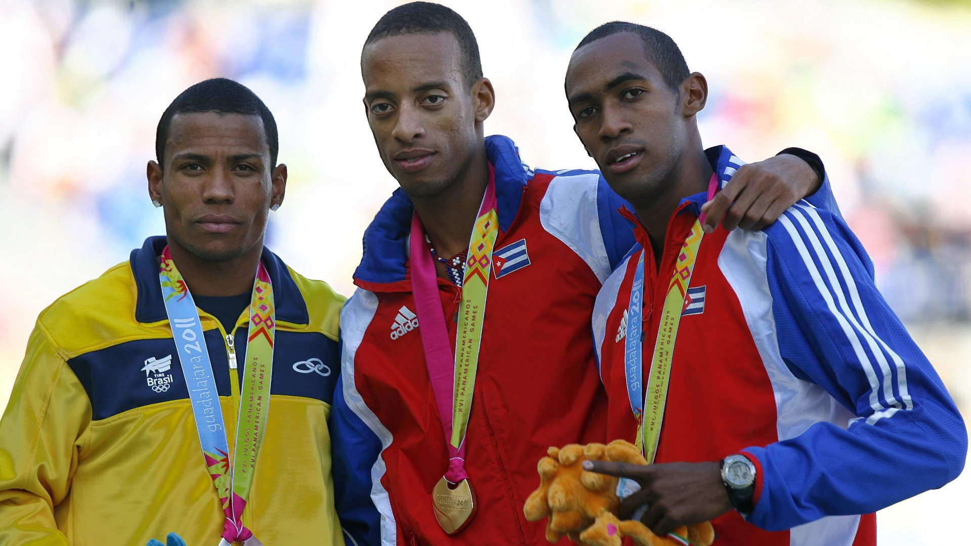 Kleberson Davide conquistou a medalha de prata nos 800 m (28/10/2011)