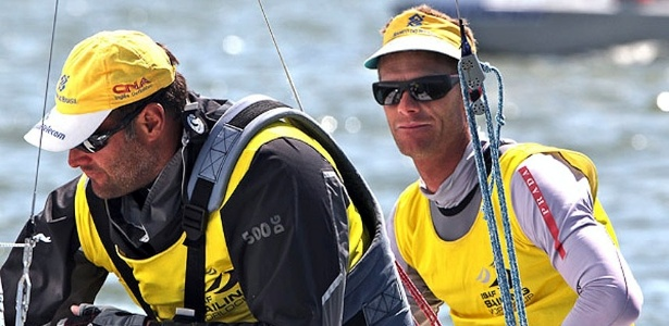 Bruno Prada e Robert Scheidt, campees da classe Star na Semana de Medemblik (28/05/2011)