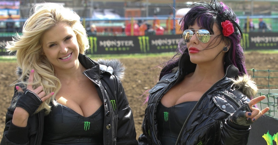 Grid Girls participam do Mundial de Motocross na Bulgária